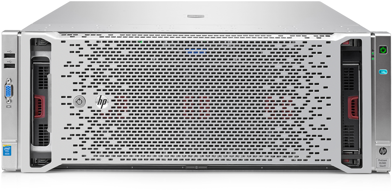 Сервер HP ProLiant DL580 Gen9 - корпус Rackmount 4U, 10 отсеков 2.5